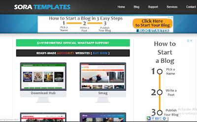 template premium free download