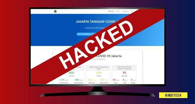 Website Informasi Corona DKI Jakarta Sempat Diretas? Ini yang sebenarnya terjadi