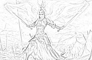 Magic: The Gathering coloring pages coloring.filminspector.com