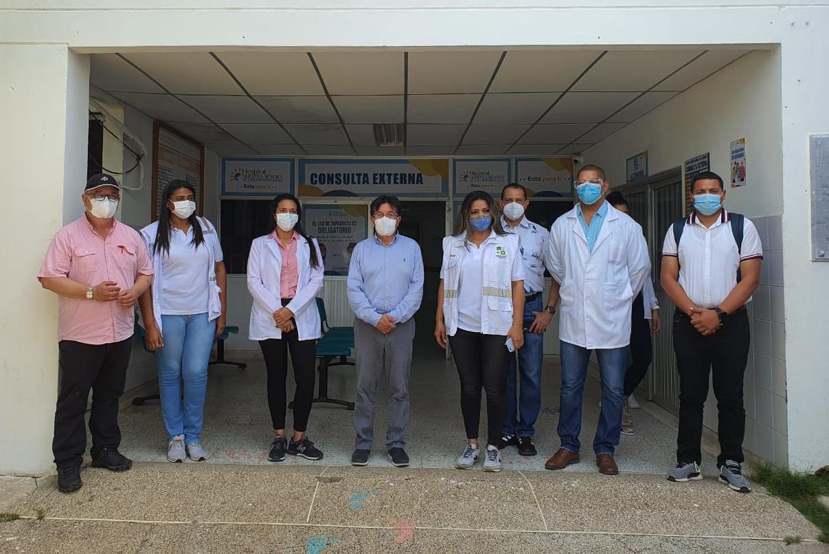 https://www.notasrosas.com/MinSalud analiza proyecto de ascenso, del Hospital de Riohacha