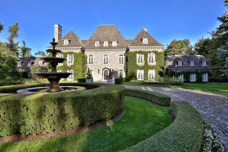 Passion for luxury french ch teau style mansion in for French chateau style