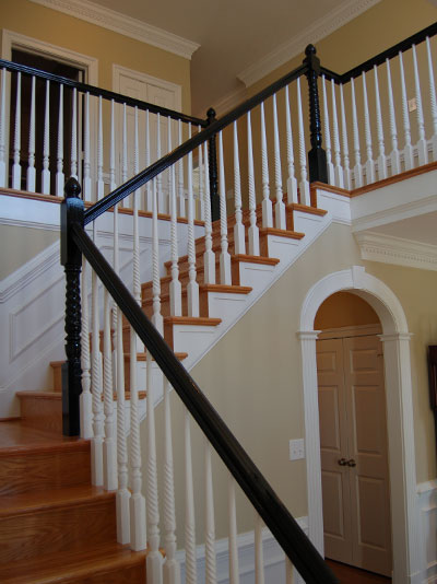 The Fine Living Muse Black Painted Railings Can Update