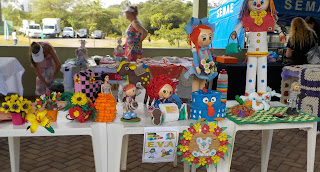 Parque Centenário Mogi das Cruzes - exposição artes E.V.A