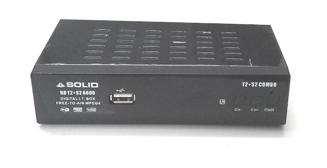 Solid launching India's first DVB-S2+DVB-T2+DVB-C Combo FTA Receiver