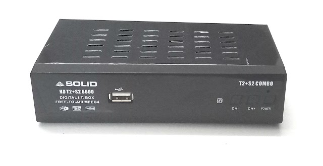 Meet India's first DVB-S2+DVB-T2 Double Tuner Combo Set-Top Box Receiver - SOLID HDS2T2-6600