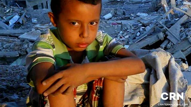 Escuelas, hospitales y comercios  en Gaza