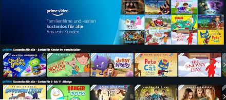 Kostenlose Familienfilme und -serien für alle Amazon Kunden | Ausgewählte Amazon Prime Video gratis streamen