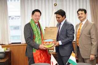 Telangana, Tokyo body sign MoU for Municipal Waste Incineration