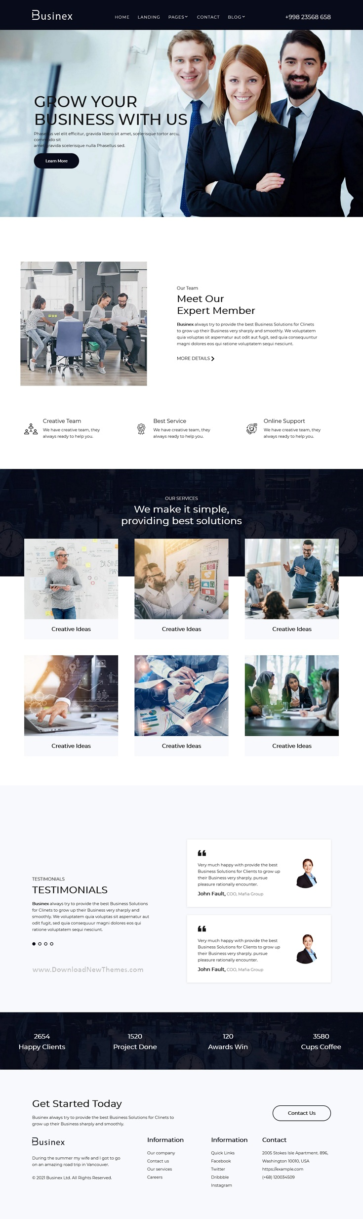 Corporate HubSpot Theme