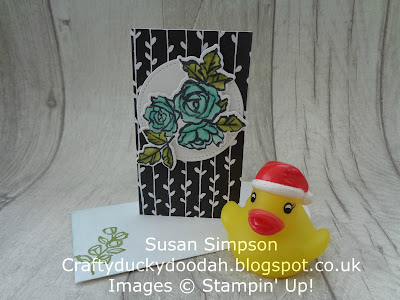 Stampin' Up! UK Independent  Demonstrator Susan Simpson, Craftyduckydoodah!, Petal Palette, December 2017 Coffee & Cards Project, Supplies available 24/7 from my online store,