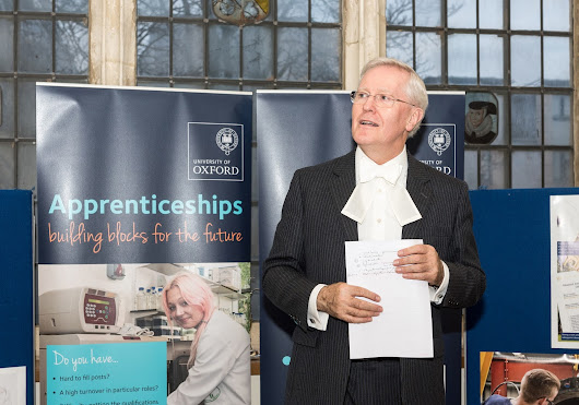The University of Oxford's Apprenticeship Awards 2015 - Round Up  - University of Oxford Apprentices