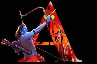 Download Jay Shree Ram Alphabet  ABCD