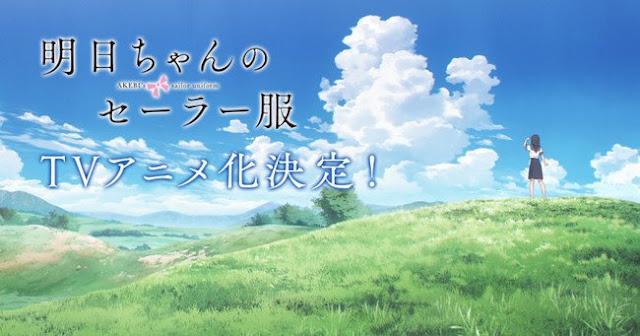 Akebi-chan no Sailor Fuku tendrá adaptación anime