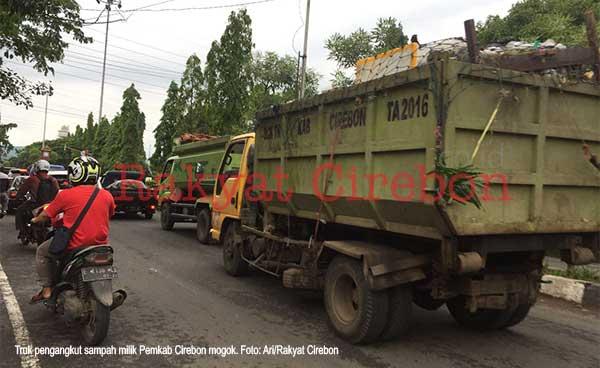 wilayah kabupaten cirebon dipenuhi sampah