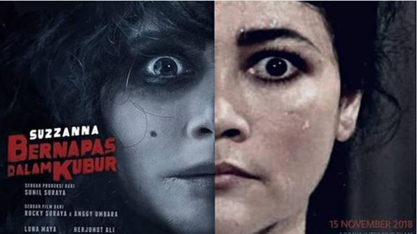 Ulasan Review Film Suzzanna Bernapas dalam Kubur (2018)