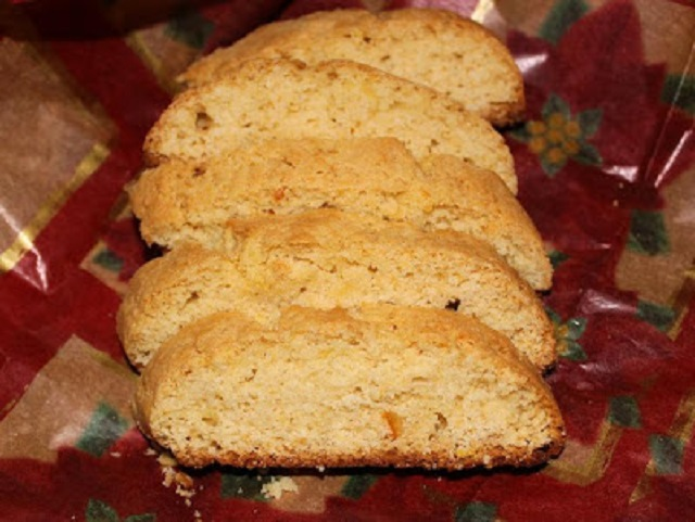 Orange Marmalade Biscotti