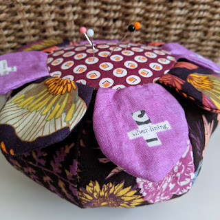 wild flower pincushion charm about you
