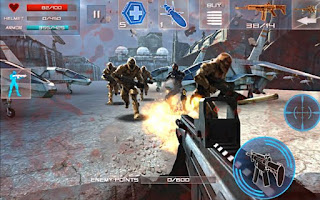 games offline perang Enemy Strike