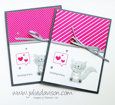Stampin' Up! Foxy Friends Catalog CASE -- Around the World Blog Hop #stampinup www.juliedavison.com