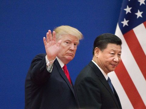 Trump says trade talks with China will resume ahead of his G20 meeting with Xi...