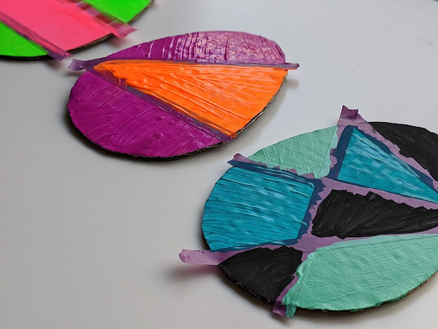 painted craft for kids