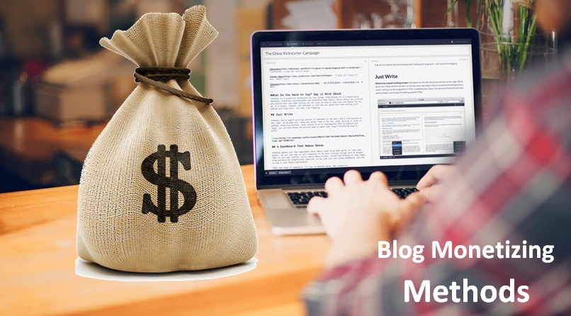 othe ways to monetize your blog if adsense not approved
