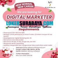 We Are Looking For at Laili Beauty Surabaya October 2020