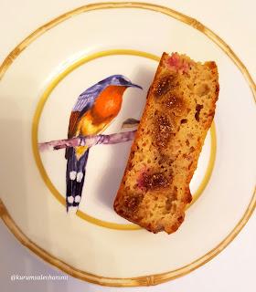 portakallı şekersiz kek