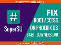 How To Fix Lost Root Access With SuperSU On Phoenix OS 64-bit (Any Version) Easy Way