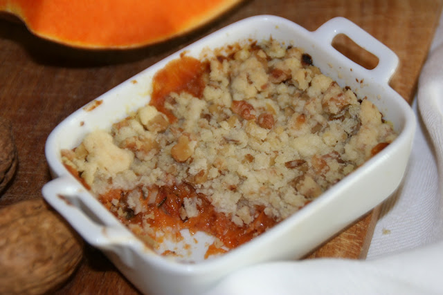 Crumble di zucca la cucina spontanea ricette for Enormi isole di cucina