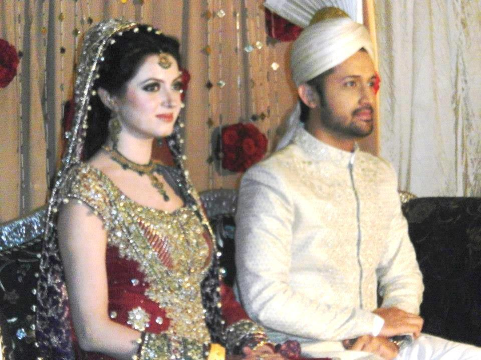 Fashion Freak: Atif aslam wedding images