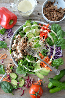 Salad recipes for lunch