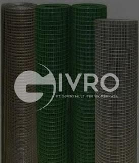 Kawat Loket PVC Hijau