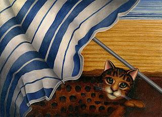 arte-con-gatos-creativas-representaciones pinturas-gatos-arte-oleo