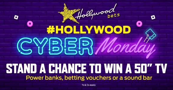 #HollywoodCyberMonday Twitter Promotion