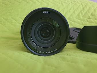 LUMIX S Series 20-60mm F3.5-5.6 Mirrorless L Mount (S-R2060)