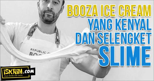 Booza Ice Cream Dari Turki, yang Selengket Slime
