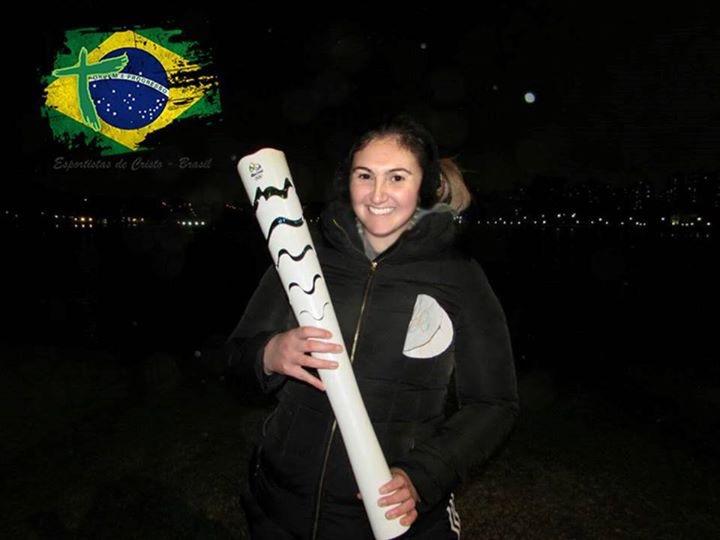 tocha olímpica rio 2016 ~ judocas esportistas de cristo Curitiba