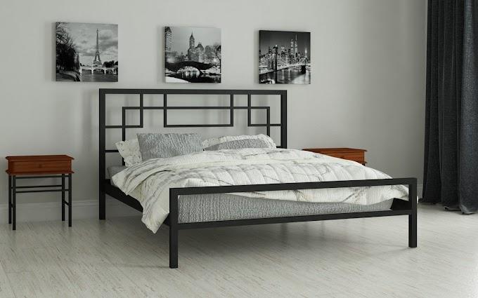 Кровать металлическая Лейла 120х190/200 ТМ Мадера