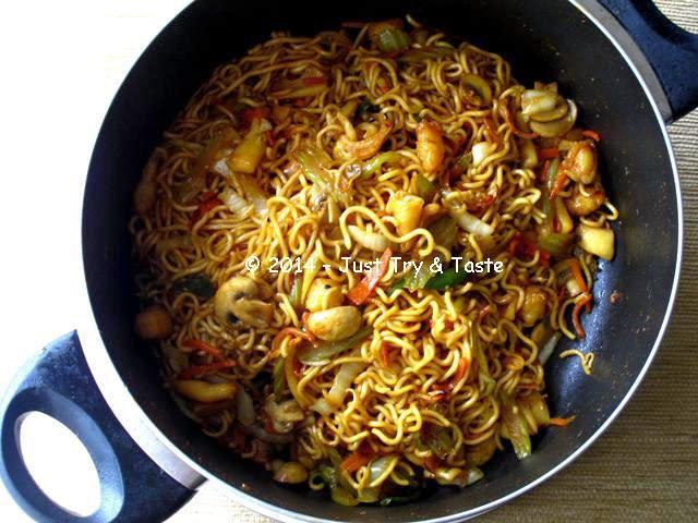 Mie Goreng Seafood Dengan Sayuran Just Try Taste