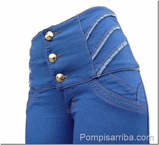 Pantalones colombianos de mayoreo Levanta pompis para dama