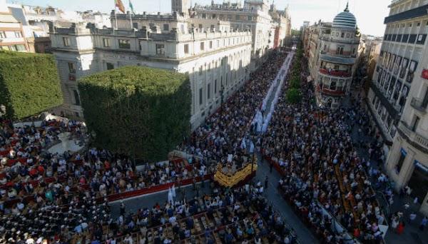 Retransmision del Domingo de Ramos de Sevilla