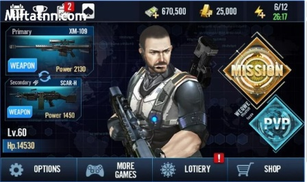 Game FPS Android Ringan Elite Killer Swat Mod Apk