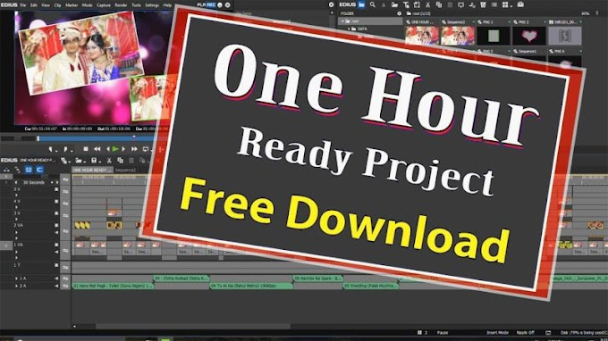 One Hour Edius Ready Project free download
