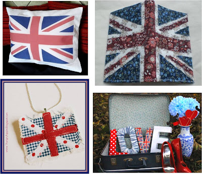 Quilt Inspiration Free Pattern Day Union Jack