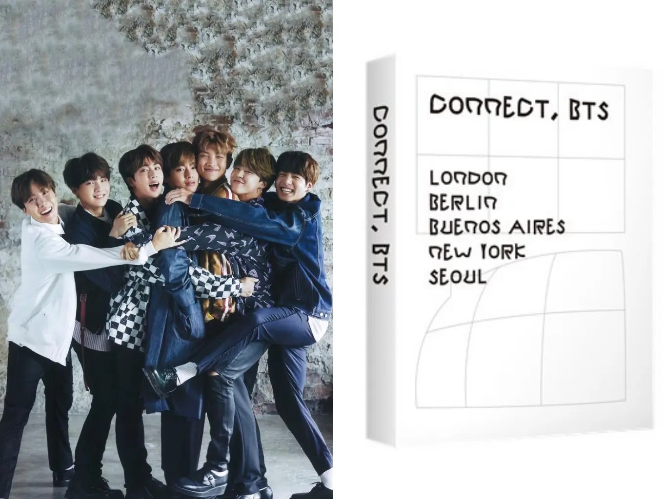 BTS Releases Special E-Book 'CONNECT, BTS' Which Can be Downloaded For Free