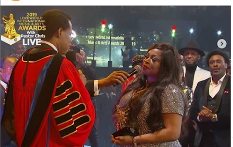 Gospel Singer, Sinach Welcomes First Child At 46 Years Old, And It's A Boy!