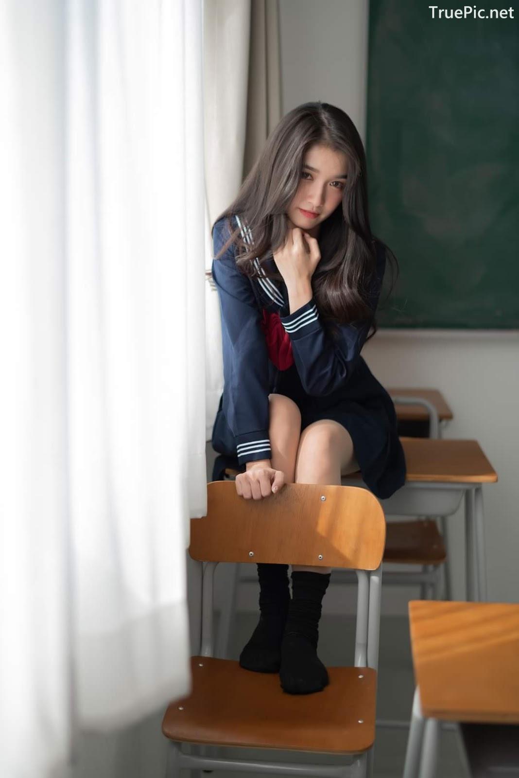 Image Thailand Cute Model - Yatawee Limsiripothong - Missing School - TruePic.net - Picture-4