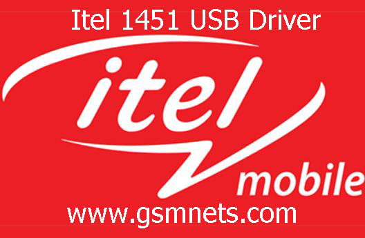 Itel 1451 USB Driver Download