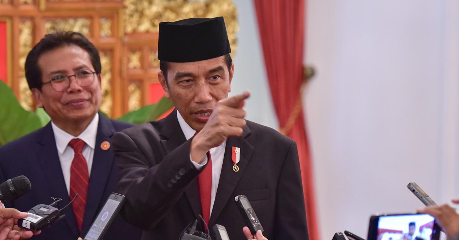 Soal Krisis, Jokowi: Perasaan Itu Tolong Sama